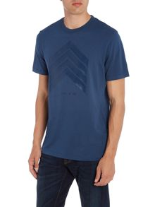 Michael Kors Slim fit chevron logo printed t shirt