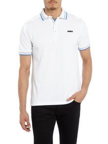 Duck and Cover Acute classic signature pique polo shirt