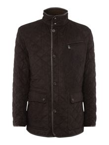 Bugatti Diamond Quilted Microma Plus Coat