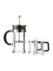 Linea 8 cup cafetiere and cup set