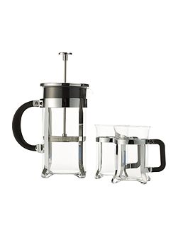 8 cup cafetiere and cup set