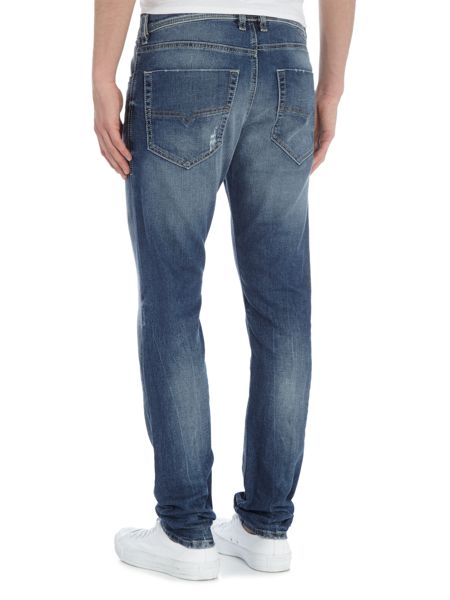 Diesel Tepphar 853Y carrot fit light distressed jeans