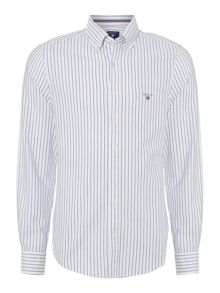 Gant Pinstripe Oxford Long Sleeve Shirt