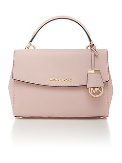 Ava pink small satchel bag