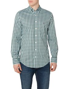 Gant Gingham Long Sleeve Oxford Shirt