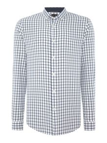 Michael Kors Slim fit button down check shirt