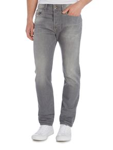 Diesel Buster 853T tapered light grey jeans