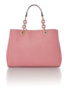Michael Kors Cynthia pink medium tote bag