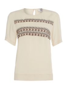 Noa Noa Short sleeve blouse