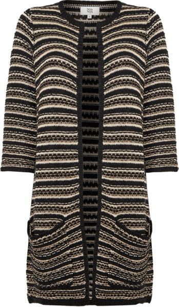 Noa Noa Long 3/4 sleeve cardigan