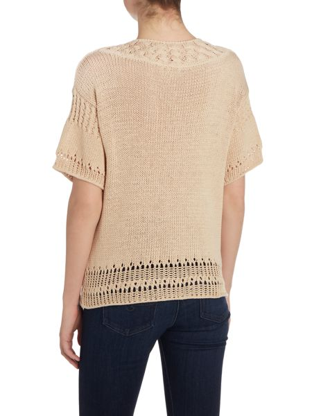 Noa Noa Short sleeve knitted pullover