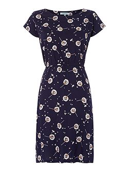 Whitney Dandelion Printed Dress