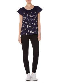 Dickins & Jones Whitney Woven Dandelion Top