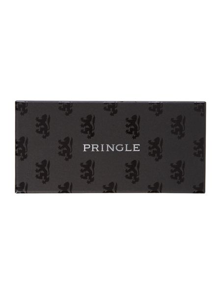Pringle 3 Pack Stripe And Plain Socks In A Box