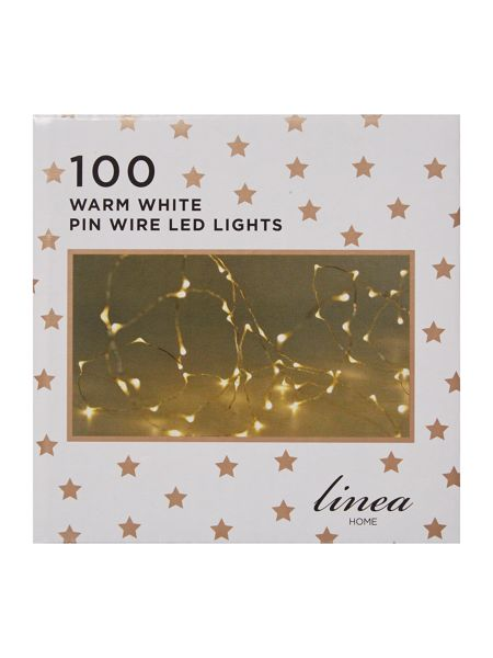 Linea 100 LED pin wire lights
