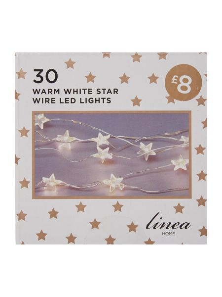 Linea 30 Star wire LED lights