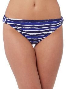 Dickins & Jones Painted Stripe Bikini Bottom