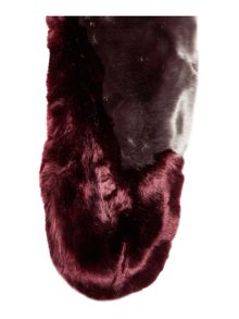 Ted Baker Avril two tone detail fur scarf