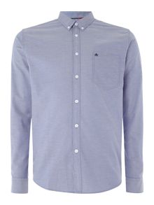 Merc Merc Long Sleeve Button Down Oxford Shirt