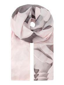Ted Baker Maita porcelain rose long silk scarf