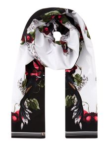 Ted Baker Bayan bejewelled shadow cigarette scarf