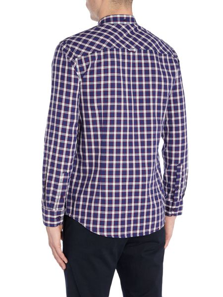 Merc Merc Long Sleeve Checked Shirt