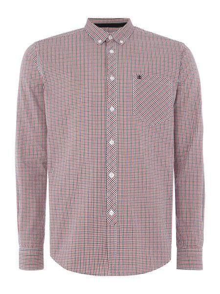Merc Merc Long Sleeve Small Checked Shirt