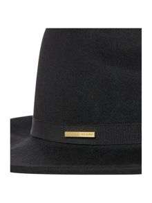 Ted Baker Feebe mini bow detail fedora