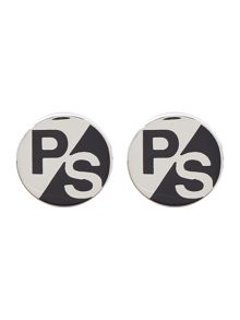 PS By Paul Smith Round Logo Cufflinks
