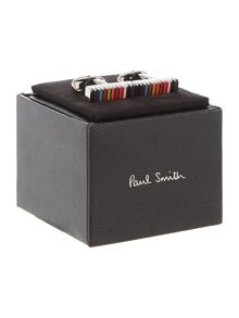 Paul Smith London Multistripe Rod Cufflink