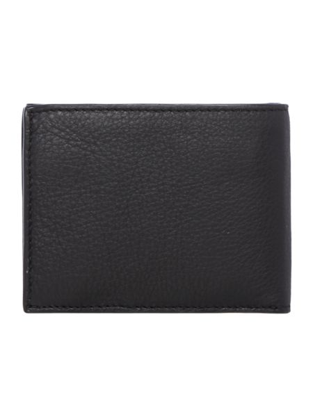 Paul Smith London Multistripe Interior Leather Coin Pocket Wallet