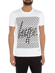 Hype Spot Logo Print Crew Neck Short Sleeve T Shirt