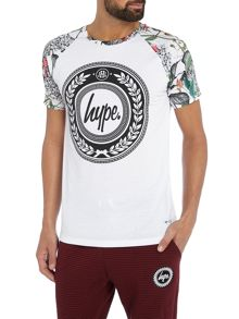 Hype British Garden Raglan Short Sleeve T Shirt