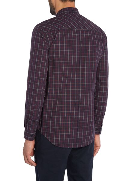 Merc Long Sleeve Check Shirt