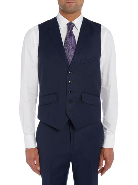 Ted Baker Pudway Puddit Flannel Waistcoat