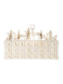 Linea Large woodland scene advent calendar