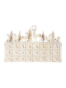 Large woodland scene advent calendar