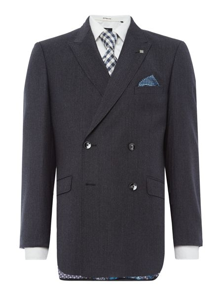 Ted Baker Double Breasted Dione Texture Suit Jacket