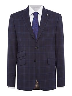 Bronjack Check Suit Jacket