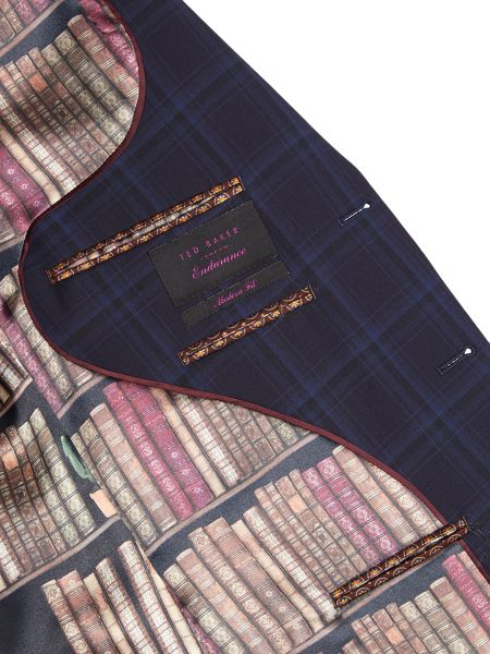 Ted Baker Bronjack Check Suit Jacket