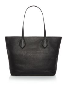 Coccinelle Rika black ew tote shoulder bag