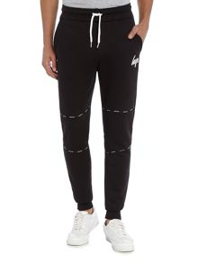 Hype Black Taping Cuffed Jogger