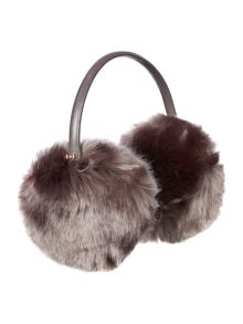 Ted Baker Alvie mini bow faux fur earmuffs