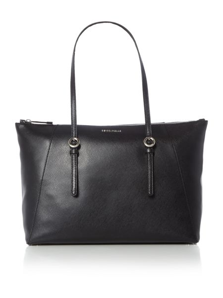 Coccinelle Mel black ew tote shoulder bag