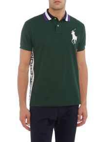 Polo Ralph Lauren Wimbledon contrast side polo