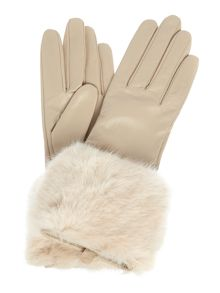 Ted Baker Emree faux fur cuff glove