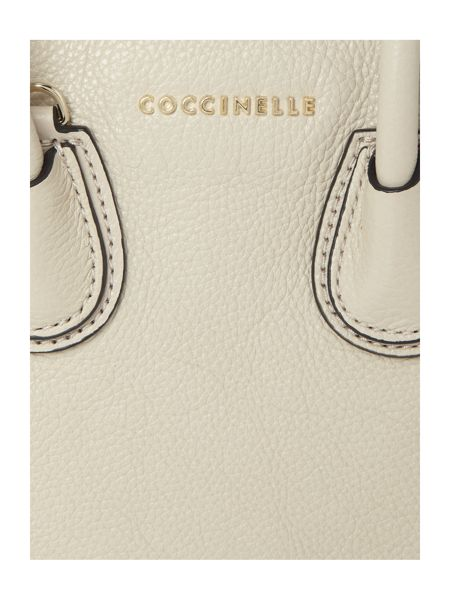 Coccinelle Celly neutral mini tote bag