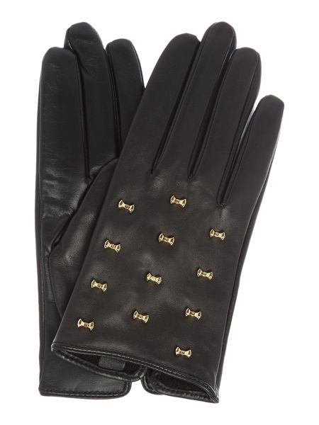 Ted Baker Ailara micro bow detail leather glove