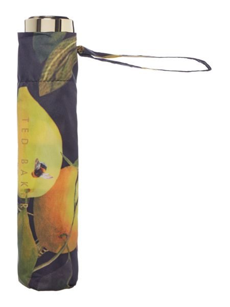 Ted Baker Issela citrus bloom print umbrella