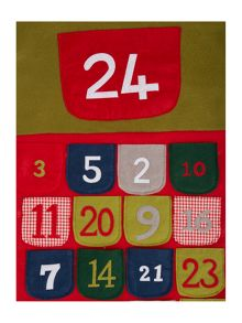 Linea Large advent stocking